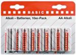 Batterie Alkaline, AA, 10Stk.