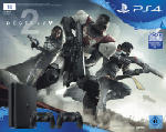 PlayStation 4 Konsolen - SONY PlayStation 4 Slim 1TB Schwarz + Destiny 2 + 2. DualShock4 Controller + Thats You Vouche