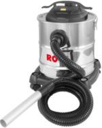Rowi Aschesauger Inox Premium, 1200W, 20L