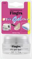Fing'rs Nagel-UV-Gel für künstliche Nägel Refill UV Gel transparent