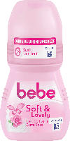 bebe Young Care Deo Roll On Deodorant Soft&Lovely