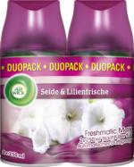 AirWick Freshmatic Max Automatik Spray Nachfüller Seide & Lilienfrische