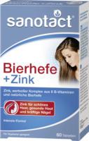 sanotact Bierhefe + Zink Tabletten