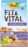 Tartex Fit & Vital Müsli Basen