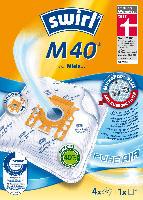 Swirl Staubsaugerbeutel M40 MicroPor Plus inkl. 1 Filter