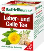 Bad Heilbrunner Leber- und Gallen Tee, 8 x 1,75 g