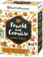 Bad Heilbrunner Frucht liebt Gemüse Orange-Kartotte 2,2g x 15 = 33,0 g