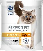 PERFECT FIT Trockenfutter für Katzen, Sensitive1+ mit Truthahn