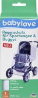 babylove Regenschutz für Sportwagen und Buggys