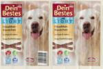 Dein Bestes Light, Snack für Hunde, Knabberwürstchen Light mit Pute und Lamm