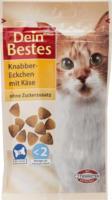 Dein Bestes Snack für Katzen, Knabber-Eckchen mit Käse