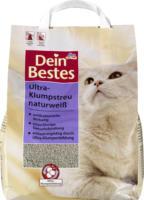 Dein Bestes Katzenstreu, Ultra-Klumpstreu naturweiß