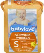 babylove Schwimm-Windeln Größe S, 4-9 kg