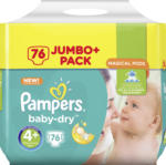 Pampers Windeln Baby-Dry, Größe 4+ Maxi plus, 9-18 kg, Jumbo+ Pack