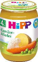 Hipp Gemüse-Allerlei nach dem 4. Monat