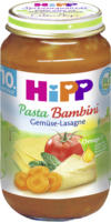 Hipp Menü Pasta Bambini Gemüse-Lasagne ab 10. Monat