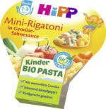 Hipp Kinderteller Kinder Bio Pasta Mini-Rigatoni in Gemüse-Sahnesauce ab 1 Jahr