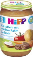 Hipp Menü Kartoffeln mit mildem Rahm-Gulasch ab 8. Monat