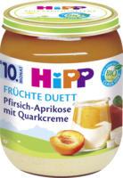 Hipp Früchte & Quark Früchte Duett Pfirsich-Aprikose mit Quarkcreme ab 10. Monat