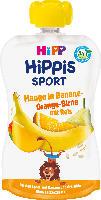 Quetschbeutel Hippis Sport Mango in Banane-Orange-Birne mit Reis ab 1 Jahr