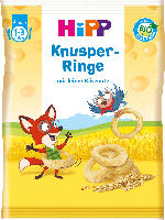 Hipp Snack Kinder Knusper-Ringe ab 1 Jahr