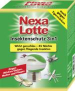 Nexa Lotte Insektenschutz 3in1 Elektroverdampfer