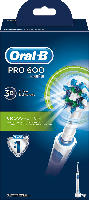 Oral-B elektrische Zahnbürste PRO 600 Cross Action