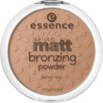 essence cosmetics Bronzer sun club matt bronzing powder suntanned 020