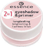 essence cosmetics Eyeshadow 2in1 eyeshadow & primer pink 02