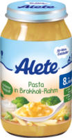Alete Menü Pasta in Brokkoli-Rahm ab 8. Monat