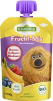 Sesamstraße Quetschbeutel Frucht-Mix Banane Erdbeere Blaubeere ab 12. Monat