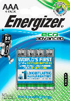 Energizer Batterien Eco Advanced Micro AAA Alkali-Mangan