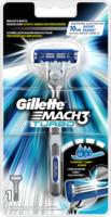 Gillette Mach 3 Turbo Rasierer + 1 Klinge