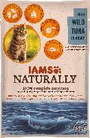 IAMS Nassfutter für Katzen, Adult, Naturally, Thunfisch in Sauce