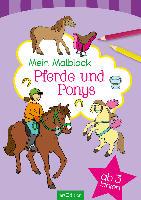 Ars Edition Mein Malblock - Pferde und Ponys