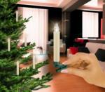 Krinner Christbaumkerzen LED Lumix Classic Erweiterung 5er Set