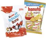Hanuta Minis + 10% gratis,  oder Kinder Schokobons jeder 200/220-g-Beutel
