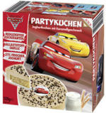 Disney Cars Partykuchen * * *  Joghurtkuchen mit Karamellgeschmack, gefroren, jede 500-g-Packung