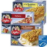 Iglo Schlemmer-Filet gefroren, versch. Sorten, 380-g-Packung, ab 3 Packungen je
