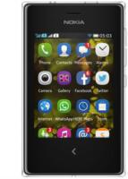Nokia Asha 502 Dual Sim Smartphone, schwarz | Gebrauchte A-Ware