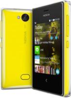 Nokia Asha 503 Dual Sim Smartphone, gelb | Gebrauchte A-Ware