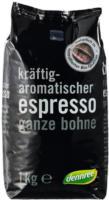 Dennree Espresso Bohne 1kg Packung