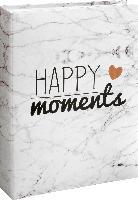 Paradies Memo-Fotoalbum gebunden 200 Bilder, 10x15 cm, Happy Moments