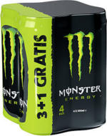 Monster Energy* 3+1 gratis jede 4 x 0,5-Liter-Packung