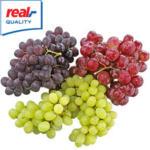 Italien Tafeltrauben, kernlos, rot oder Mix Kennzeichnung siehe Etikett, jede 500-g-Schale
