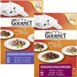 Gourmet Mon Petit Katzen-Nassnahrung versch. Sorten, jede 6 x 50-g Packung