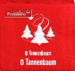 Profissimo Servietten Weihnachten 33x33 O Tannenbaum