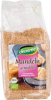 Dennree Mandelkerne gemahlen & geröstet 200g Packung