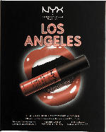 NYX PROFESSIONAL MAKEUP Set Wanderlust Lip, Eye & Face Palette Los Angeles