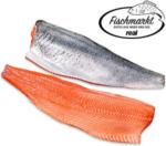 Lachsfilet mit Haut Aquakultur, Nordostatlantik, Norwegen, je 100 g